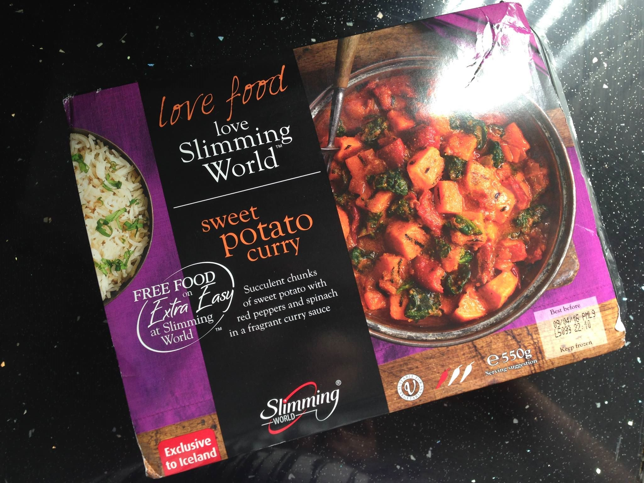 Slimming World Sweet Potato Curry
