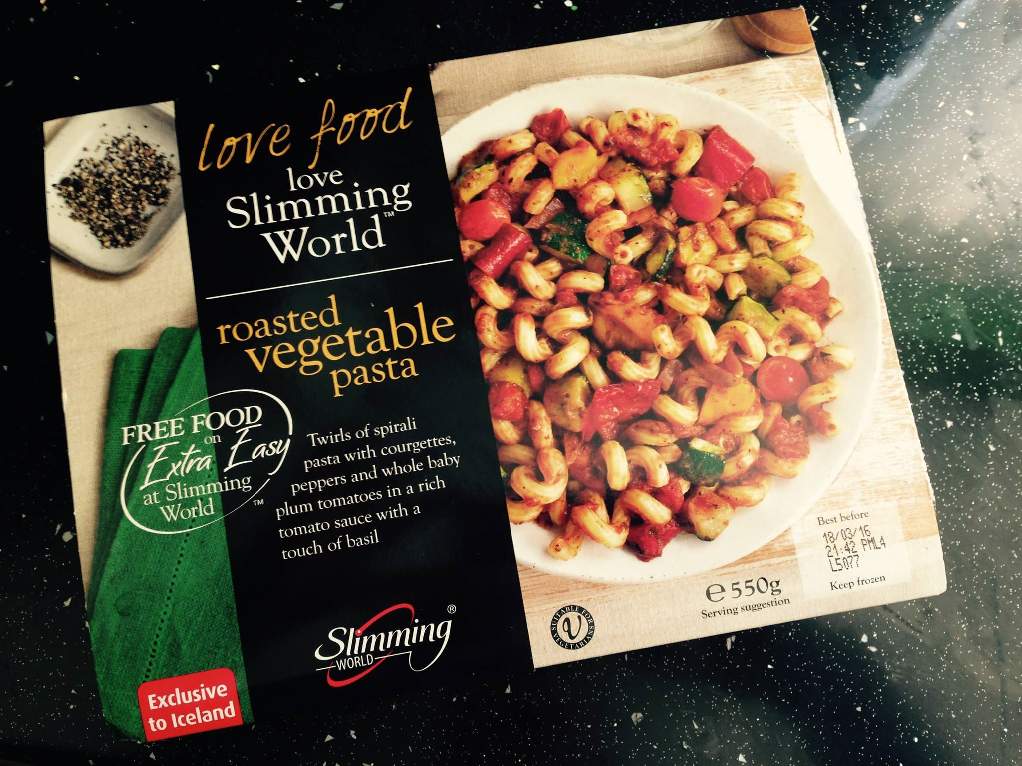 Ready Made Review Slimming World Roasted Vegetable Pasta Kell 39 S Slimming World Adventure