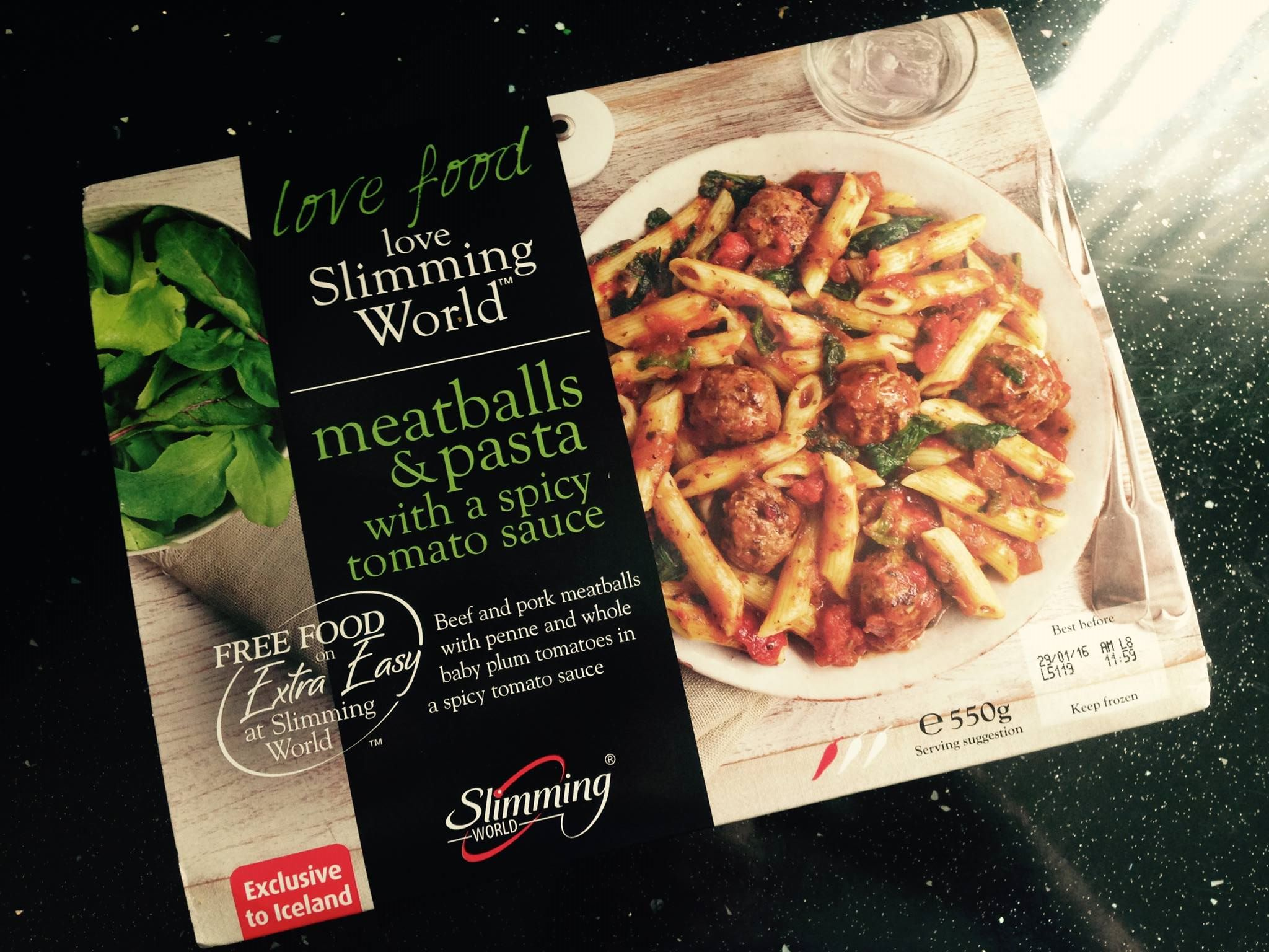 Ready-Made Review: Slimming World Meatballs and Pasta with ...
