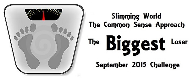 Biggest Loser September Challenge Header
